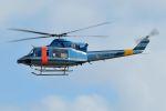 うめやしきさんが、厚木飛行場で撮影した山梨県警察 412EPの航空フォト(飛行機 写真・画像)