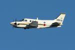 うめやしきさんが、厚木飛行場で撮影した海上自衛隊 LC-90 King Air (C90)の航空フォト(飛行機 写真・画像)