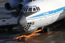 はるさんが、山口宇部空港で撮影したロシア空軍 Il-76MDの航空フォト(飛行機 写真・画像)