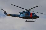350JMさんが、厚木飛行場で撮影した山梨県警察 412EPの航空フォト(写真)
