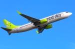 Tomo_lgmさんが、大分空港で撮影したソラシド エア 737-86Nの航空フォト(写真)