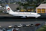Gambardierさんが、フェニックス・スカイハーバー国際空港で撮影したアメリカウエスト航空 737-277/Advの航空フォト(写真)