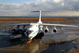 masa707さんが、山口宇部空港で撮影したロシア空軍 Il-76MDの航空フォト(飛行機 写真・画像)