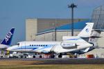 パンダさんが、成田国際空港で撮影したガスプロムアビア Falcon 900の航空フォト(写真)