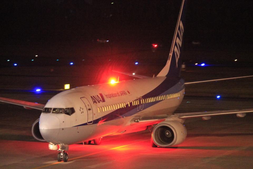 スターアライアンスKMJ まいやんさんの全日空 Boeing 737-800 (JA56AN) 航空フォト