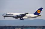 りんたろうさんが、フランクフルト国際空港で撮影したルフトハンザドイツ航空 A380-841の航空フォト(写真)