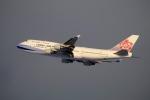 北の熊さんが、新千歳空港で撮影したチャイナエアライン 747-409の航空フォト(飛行機 写真・画像)