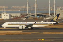 とらとらさんが、羽田空港で撮影したシンガポール航空 A350-941の航空フォト(飛行機 写真・画像)