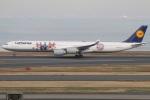 たみぃさんが、羽田空港で撮影したルフトハンザドイツ航空 A340-642の航空フォト(写真)