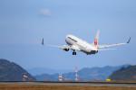 ざきざきさんが、松山空港で撮影した日本航空 737-846の航空フォト(写真)