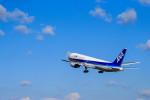 ざきざきさんが、松山空港で撮影した全日空 767-381の航空フォト(写真)