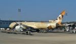 Juliaさんが、アブダビ国際空港で撮影したエティハド航空 787-9の航空フォト(写真)