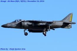 Chofu Spotter Ariaさんが、厚木飛行場で撮影したアメリカ海兵隊 AV-8B Harrier II+の航空フォト(飛行機 写真・画像)