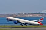 Dojalanaさんが、羽田空港で撮影したブリティッシュ・エアウェイズ 777-36N/ERの航空フォト(飛行機 写真・画像)
