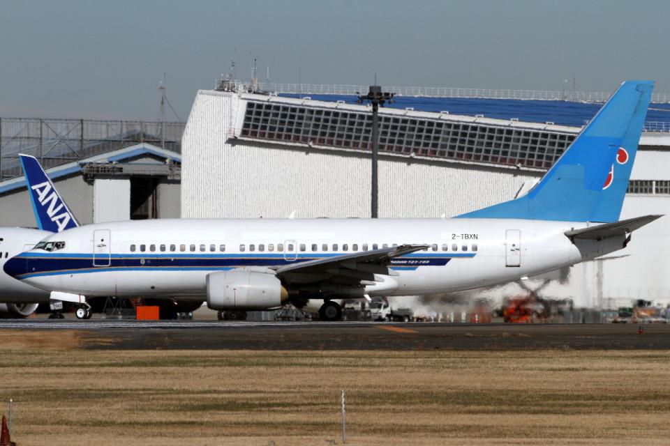 Itami Spotterさんのエアキャップ Boeing 737-700 (2-TBXN) 航空フォト