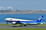 Dojalanaさんが、羽田空港で撮影した全日空 777-281の航空フォト(飛行機 写真・画像)
