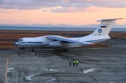 tame24さんが、山口宇部空港で撮影したロシア空軍 Il-76MDの航空フォト(飛行機 写真・画像)