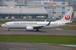 Kuuさんが、福岡空港で撮影した日本トランスオーシャン航空 737-8Q3の航空フォト(飛行機 写真・画像)