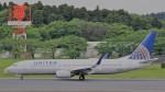 westtowerさんが、成田国際空港で撮影したユナイテッド航空 737-824の航空フォト(写真)