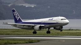 planetさんが、長崎空港で撮影した全日空 A320-211の航空フォト(飛行機 写真・画像)