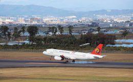 ぶんたさんが、仙台空港で撮影したトランスアジア航空 A320-232の航空フォト(飛行機 写真・画像)