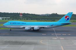 PASSENGERさんが、成田国際空港で撮影した大韓航空 747-4B5F/SCDの航空フォト(飛行機 写真・画像)