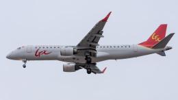 coolinsjpさんが、大連周水子国際空港で撮影したGXエアラインズ ERJ-190-100 LR (ERJ-190LR)の航空フォト(飛行機 写真・画像)
