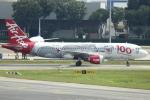 NANASE UNITED®さんが、シンガポール・チャンギ国際空港で撮影したエアアジア A320-216の航空フォト(写真)