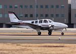 nabenobuさんが、仙台空港で撮影した航空大学校 Baron G58の航空フォト(写真)