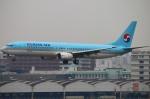 Kuuさんが、福岡空港で撮影した大韓航空 737-9B5の航空フォト(写真)