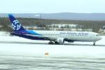 セブンさんが、新千歳空港で撮影したアジア・アトランティック・エアラインズ 767-322/ERの航空フォト(飛行機 写真・画像)