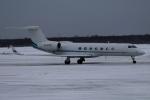 北の熊さんが、新千歳空港で撮影したメトロジェット G-V-SP Gulfstream G550の航空フォト(飛行機 写真・画像)