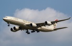 じゃがさんが、成田国際空港で撮影したエティハド航空 A340-541の航空フォト(写真)