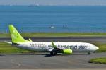 Dojalanaさんが、羽田空港で撮影したソラシド エア 737-81Dの航空フォト(写真)