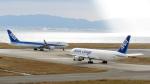 誘喜さんが、関西国際空港で撮影した全日空 767-381/ER(BCF)の航空フォト(写真)