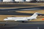 パンダさんが、成田国際空港で撮影した中国個人所有 BD-700-1A11 Global 5000の航空フォト(写真)