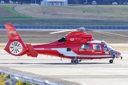 うらしまさんが、高松空港で撮影した名古屋市消防航空隊 AS365N3 Dauphin 2の航空フォト(飛行機 写真・画像)