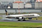 Dojalanaさんが、羽田空港で撮影したシンガポール航空 777-312/ERの航空フォト(写真)