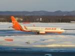さとうさんが、新千歳空港で撮影したチェジュ航空 737-8HXの航空フォト(写真)