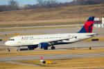 天空の鳩さんが、シンシナティ・ノーザンケンタッキー国際空港で撮影したデルタ航空 A320-211の航空フォト(写真)