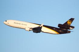 天空の鳩さんが、ルイビル国際空港で撮影したUPS航空 MD-11Fの航空フォト(飛行機 写真・画像)