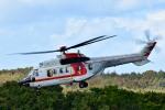 Dojalanaさんが、鹿部飛行場で撮影した朝日航洋 AS332L Super Pumaの航空フォト(飛行機 写真・画像)
