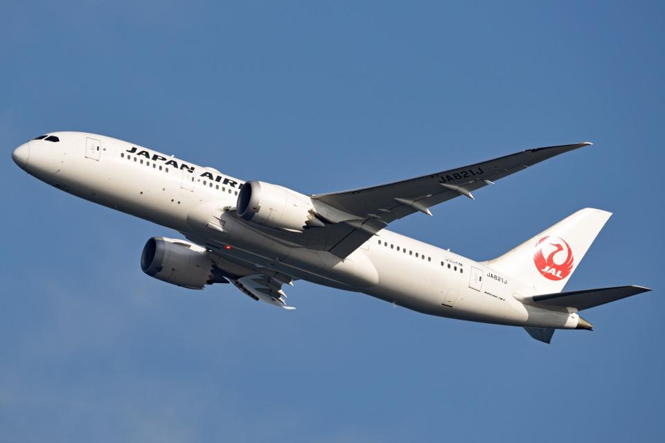 tsubasa0624さんの日本航空 Boeing 787-8 Dreamliner (JA821J) 航空フォト