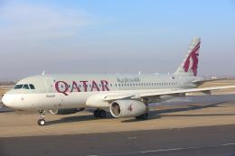 安芸あすかさんが、ザグレブ空港で撮影したカタール航空 A320-232の航空フォト(飛行機 写真・画像)