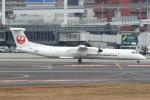 セブンさんが、伊丹空港で撮影した日本エアコミューター DHC-8-402Q Dash 8の航空フォト(飛行機 写真・画像)