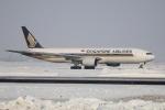 北の熊さんが、新千歳空港で撮影したシンガポール航空 777-212/ERの航空フォト(写真)