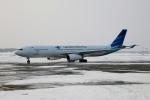 北の熊さんが、新千歳空港で撮影したガルーダ・インドネシア航空 A330-343Xの航空フォト(飛行機 写真・画像)