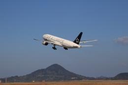 SKY KOCHIさんが、松山空港で撮影した全日空 777-281の航空フォト(写真)