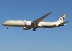 SIさんが、成田国際空港で撮影したエティハド航空 787-9の航空フォト(飛行機 写真・画像)