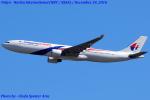 Chofu Spotter Ariaさんが、成田国際空港で撮影したマレーシア航空 A330-323Xの航空フォト(写真)